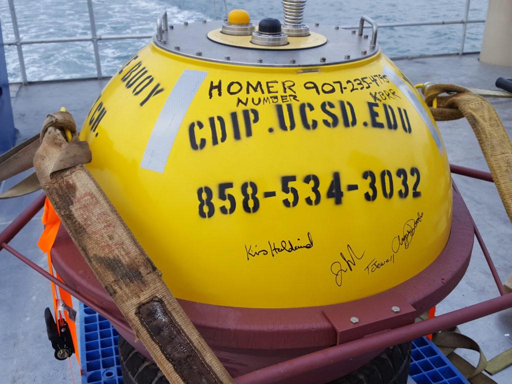 system-wide monitoring program buoy